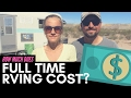 How Much Does Full Time RV Living Cost? 💵 👍💰 RV Life Monthly Expenses | The Cost of RVing