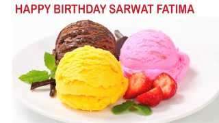Sarwat Fatima   Ice Cream & Helados y Nieves - Happy Birthday