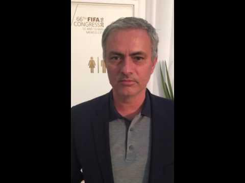 Sameul Eto'o Charity Match - Mourinho