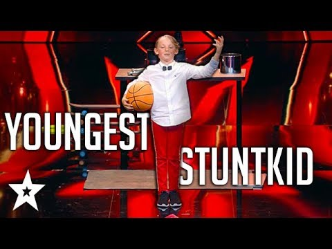 Youngest Ringmaster Does CRAZY Stunts on Germany's Got Talent   Got Talent Global