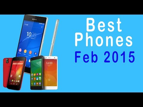 Best smartphones to buy in India - February 2015