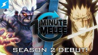 One Minute Melee - Oni vs Kenpachi (Street Fighter vs Bleach)