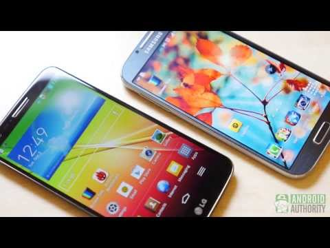 LG G2 vs Samsung Galaxy S4: Quick Look