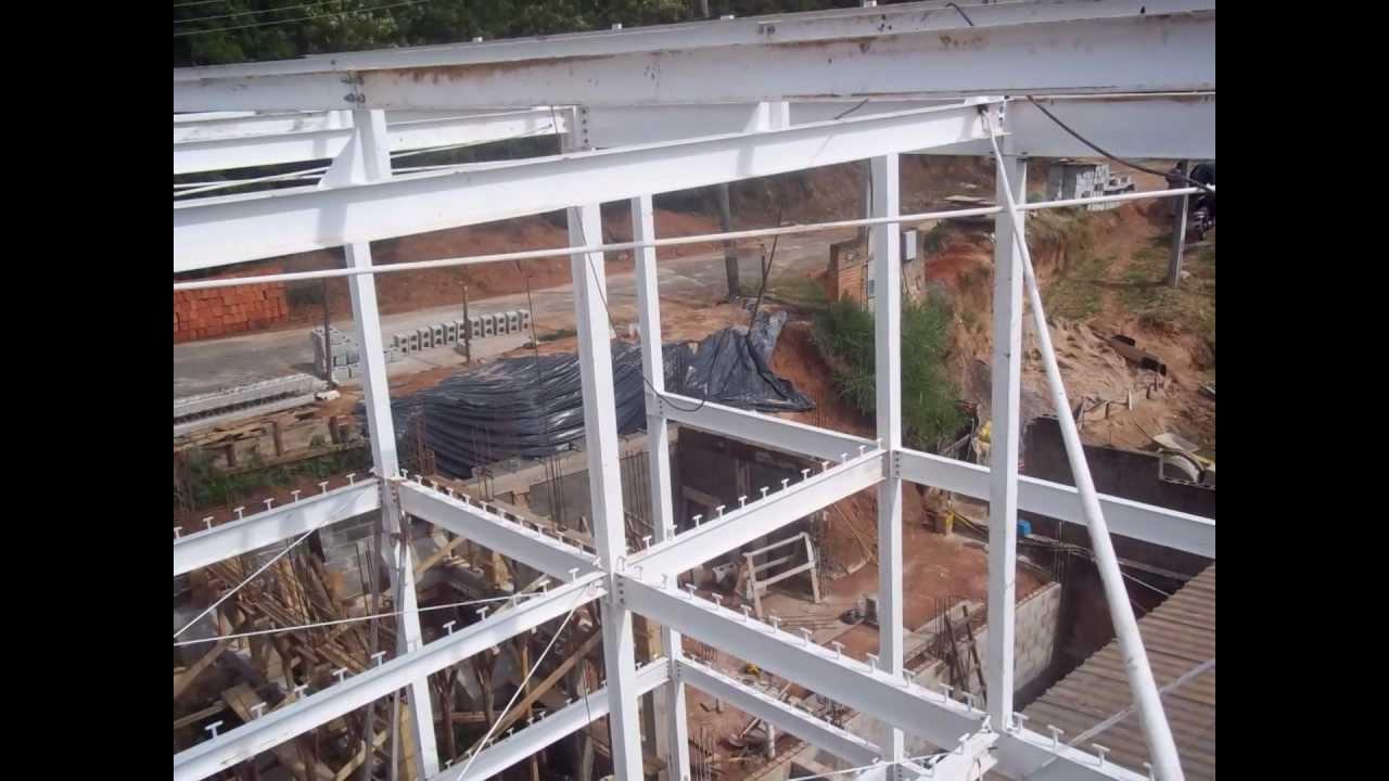 Casa estrutura met lica youtube - Casa estructura metalica ...