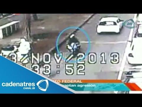 Video del momento en el que es asesinado un escolta tras evitar un asalto a empresario