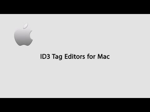 Top ID3 Tag Editors for Mac OS X El Capitan