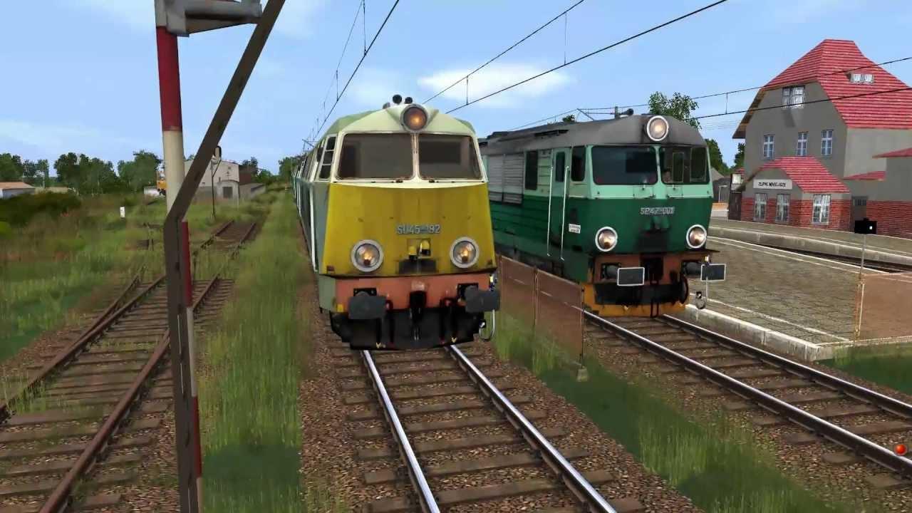 PKP SU45, SP45 i SP47 w Trainz Simulator 2010 [HD] - YouTube