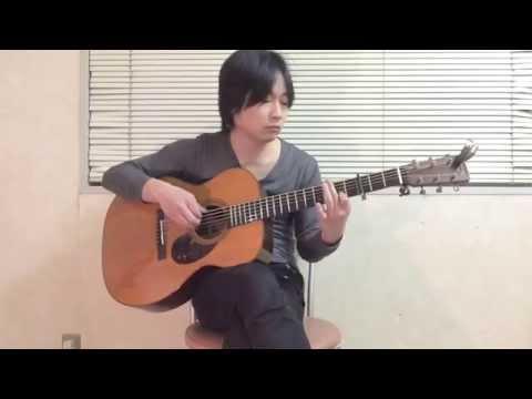 Komm,susser Tod(Neon Genesis Evangelion) solo guitar cover