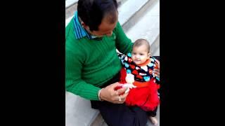 Dhodu baby laughing video