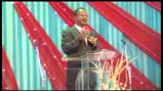 bishop mike bamidele talking about PROTOCOL AND REWARD MINISTERS conference 2013