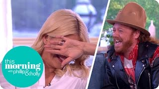 Holly Drops an Innuendo That Leaves Keith Lemon and Paddy McGuinness in Sches | This Morning