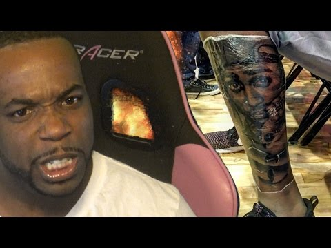 Reacting To Biggie Fan Kevin Durant Getting a Tupac Bangwagon Tattoo! Rant