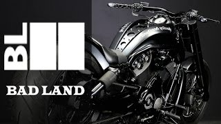 Harley Davidson V Rod Blackish Cult by Bad Land | Motorcycle Muscle Custom