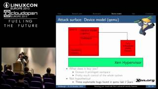 Securing Your Xen-Based Cloud - George Dunlap, Citrix