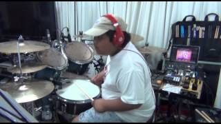 You Are Holy - drum play-along by Anjelo Gana
