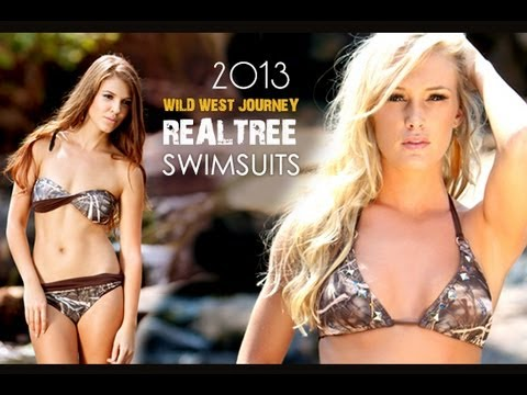 2013 Realtree Camo Bikinis And Swimwear