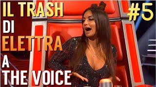 TUTTO IL TRASH DI ELETTRA LAMBORGHINI A THE VOICE | BLIND AUDITIONS #5 - TVOI 2019