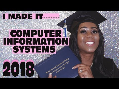 I Made It!!!!! |  Computer Information Systems 2018