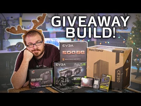 $1000 Gaming PC Build for the Charity Livestream Giveaway!