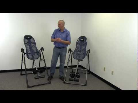 Teeter Hang Ups EP-560 Review and Comparison to EP-550 Inversion Table