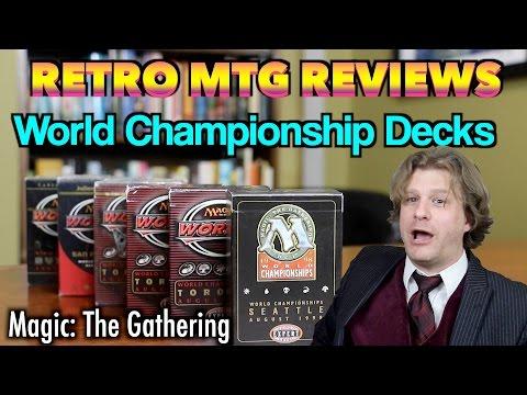Retro MTG Reviews - World Championship Decks! Magic: The Gathering