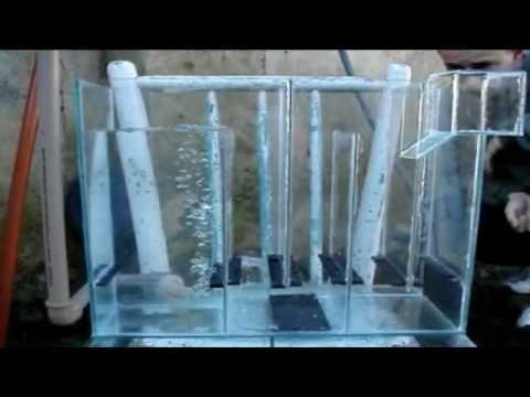 Filtro de cascada para peceras marinas o de agua dulce for Filtros para estanques de jardin