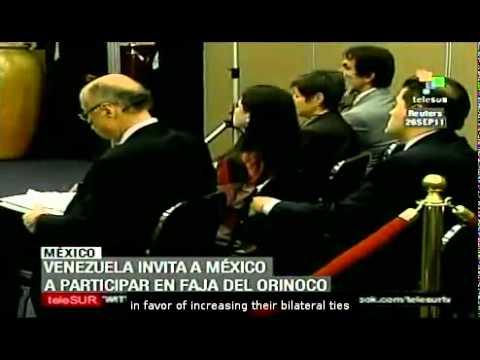 Mexico and Venezuela strengthen binational ties
