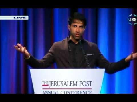 Mosab Hassan Yousef (Son of Hamas) at JPost conference