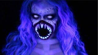 NYX Face Awards Paranormal Activity *Español*   LoLo Love Monstro Del Mar Halloween