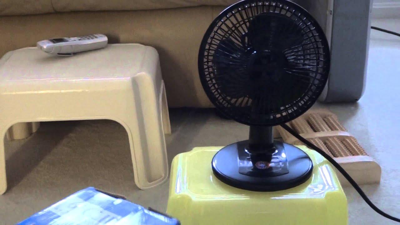 Massey Box Fan : Quot massey desk and clip on fan youtube