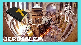 JERUSALEM: CHURCH OF THE HOLY SEPULCHRE, TOMB OF CHRIST & RESURRECTION  (FULL TOUR)