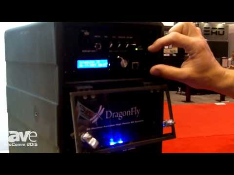InfoComm 2015: Technomad Shows New DragonFly, Sets Standard for Weatherproof, Portable PA Systems