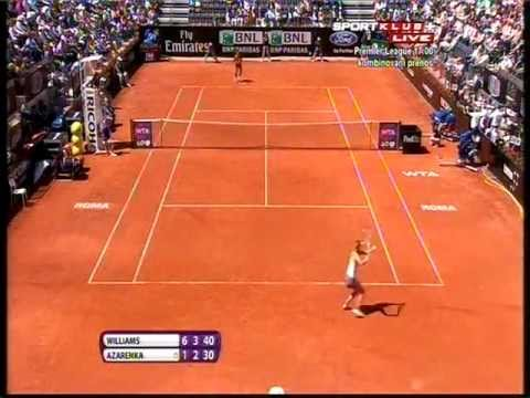 Serena Williams vs Victoria Azarenka - WTA Rome 2013. FINAL Highlights (bojan svitac)