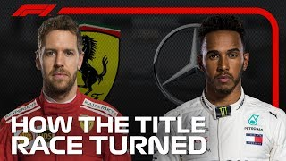 How the 2018 Formula 1 Title Race Turned