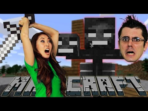 THE WITHER HUNT BEGINS (MariCraft)