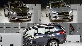 2019 BMW X5 vs Audi Q7 vs Volvo XC90 - CRASH TEST