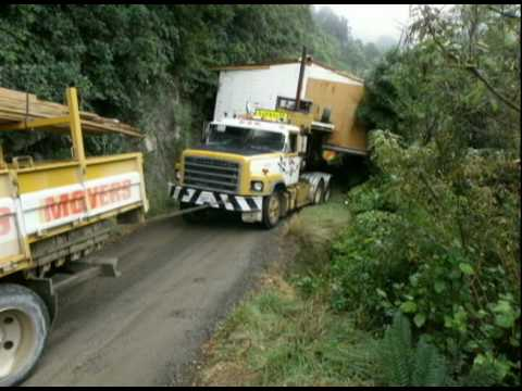 Moving house in New Zealand Bush
