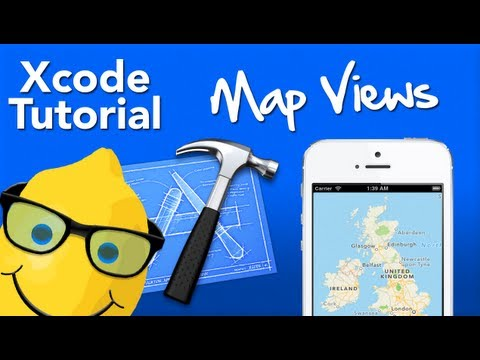 XCode 4 Tutorial Map View - Geeky Lemon Development