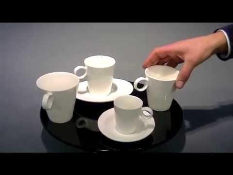 CoffeePoint modern, 1 schotel voor meerder koppen.mov
