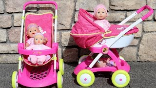 Masha and The Bear Dolls Stroller Dolls Pram Baby Annabell Baby Born Lil Cutesies Baby Dolls