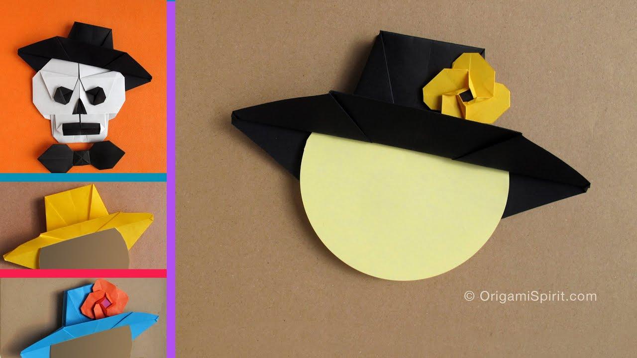 Origami Hat : : Sombrero Mexicano - YouTube - photo#45
