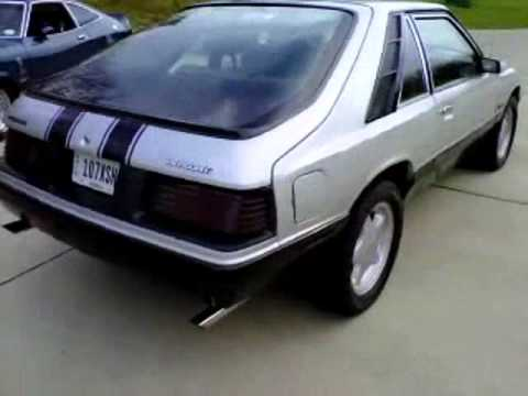 1986 Mercury Capri V6 Youtube