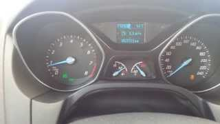 Ford Focus III 2.0 powershift  0-100km/h acceleration