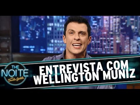 The Noite (02/03/15) - Entrevista com Wellington Muniz