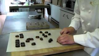 Watch Nancy Samson from Canada prepare for the World Chocolate Masters Final 2011