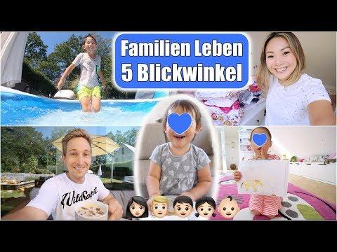 Familien Leben aus 5 Perspektiven