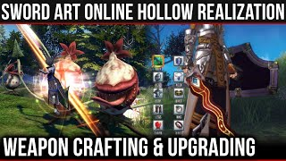 Weapon Crafting, Character Classes & Final Fantasy Influences in Hollow Realization