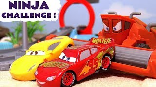Disney Cars Toys Ninja race with McQueen & Hot Wheels Avengers Hulk with Frank - Cars for kids TT4U