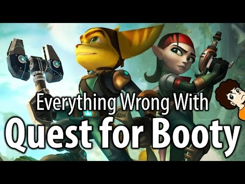 Everything Wrong With Ratchet and Clank: Quest for Booty | valeforXD