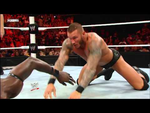 John Cena, Randy Orton & Alex Riley vs. R-Truth, The Miz & Christian: Raw, June 20, 2011